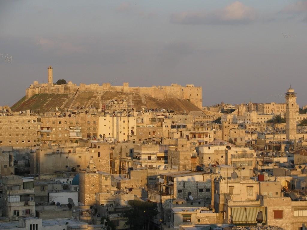 القلعة القديمة في حلب