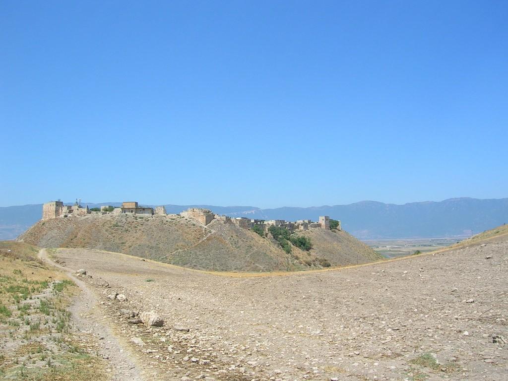 Qal'aat al-Madiq citadel, July 2010