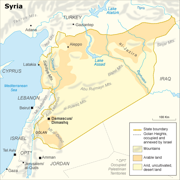 Syria_fanack_map01