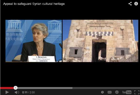 Video Unesco Chief