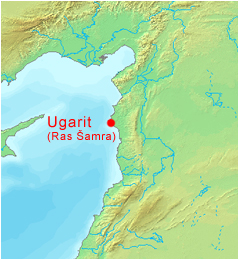 Ugarit, where the Hurrian songs were found