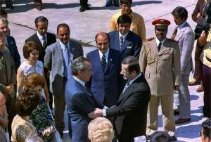 assad meets nixon in 1974